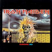Iron Maiden Europe 80 UK tour programme