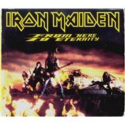 Iron Maiden From Here To Eternity - Digipak - EX UK CD single