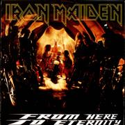 Click here for more info about 'Iron Maiden - From Here To Eternity - Poster Sleeve - EX'