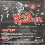 Click here for more info about 'Iron Maiden - Give Me Ed... 'Til I'm Dead Tour '03'