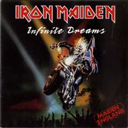 Click here for more info about 'Iron Maiden - Infinite Dreams - P/S - Paper label'