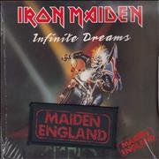 "Iron Maiden Infinite Dreams - sealed UK 7"" vinyl"
