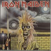 Click here for more info about 'Iron Maiden - Iron Maiden - Green Vinyl'