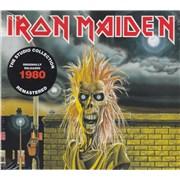 Iron Maiden Iron Maiden - Remastered UK CD album