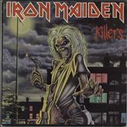 Click here for more info about 'Iron Maiden - Killers - EX'