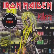 Iron Maiden Killers - Remastered UK CD album