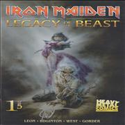Click here for more info about 'Iron Maiden - Legacy Of The Beast #1 - Cover B - Signed'