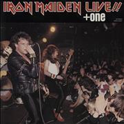 Click here for more info about 'Iron Maiden - Live + One - 'Play Roud' P/S + Insert'