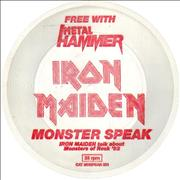 Click here for more info about 'Iron Maiden - Monster Speak'