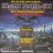 Click here for more info about 'Iron Maiden - Brave New World - Más Fuerte Que Nunca'
