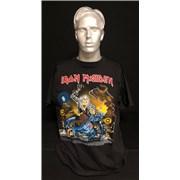 Iron Maiden No Prayer On The Road - 2nd Hooked Eddie - XL UK t-shirt