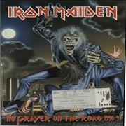 Click here for more info about 'Iron Maiden - No Prayer On The Road 1990/91 + Ticket Stub'