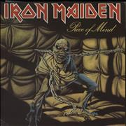 Click here for more info about 'Iron Maiden - Piece Of Mind + Merchandise Insert'