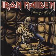 Click here for more info about 'Iron Maiden - Piece Of Mind - 180gram Vinyl'