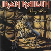 Click here for more info about 'Iron Maiden - Piece Of Mind - 2nd - EX'