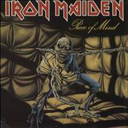 Click here for more info about 'Iron Maiden - Piece Of Mind + Merchandise Insert - EX'