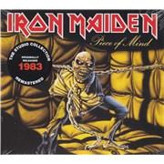 Iron Maiden Piece Of Mind - Remastered UK CD album