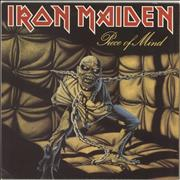 Click here for more info about 'Iron Maiden - Piece Of Mind - 1st - EX'