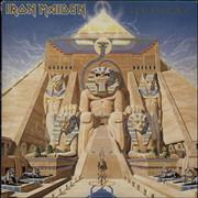 Click here for more info about 'Iron Maiden - Powerslave - Textured Sleeve - EX'