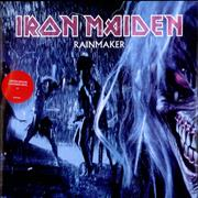 Click here for more info about 'Iron Maiden - Rainmaker - Blue Vinyl'