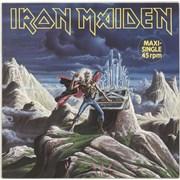 "Iron Maiden Run To The Hills - EX Germany 12"" vinyl"