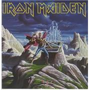 """Iron Maiden Run To The Hills - Live UK 12"""" vinyl"""