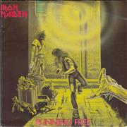 Click here for more info about 'Iron Maiden - Running Free - VG/EX'