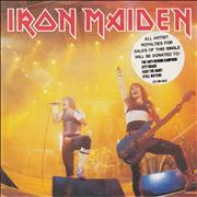 Click here for more info about 'Iron Maiden - Running Free - Poster - EX'