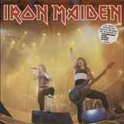Click here for more info about 'Iron Maiden - Running Free - stickered p/s'