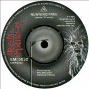 Click here for more info about 'Iron Maiden - Running Free'