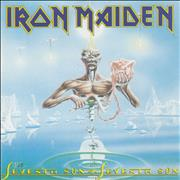 Iron Maiden Seventh Son Of A Seventh Son Germany CD album