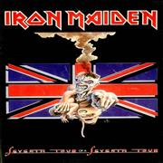 Click here for more info about 'Iron Maiden - Seventh Tour Of A Seventh Tour - Union Jack/Eddie Cover'