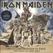 Click here for more info about 'Iron Maiden - Somewhere Back In Time + Poster'