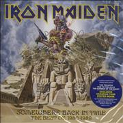 Click here for more info about 'Iron Maiden - Somewhere Back In Time - Sealed With Poster + iPod Skin'