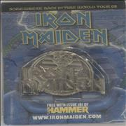 Click here for more info about 'Iron Maiden - Somewhere Back In Time World Tour 08 - Powerslave Badge'
