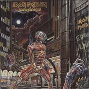 Click here for more info about 'Iron Maiden - Somewhere In Time + Insert - EX'