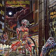 Click here for more info about 'Iron Maiden - Somewhere In Time - EX + Insert'