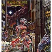 Iron Maiden Somewhere In Time - EX UK vinyl LP