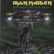 Click here for more info about 'Iron Maiden - Somewhere On Tour 86/87'