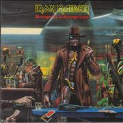 Click here for more info about 'Iron Maiden - Stranger In A Strange Land - Poster - Inj'