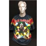 Iron Maiden Tailgunner - tie dye - XL Australia t-shirt