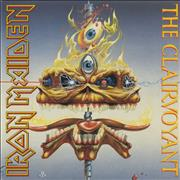 "Iron Maiden The Clairvoyant - EX UK 12"" vinyl"