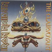 Click here for more info about 'Iron Maiden - The Clairvoyant - Clear vinyl - Poster Sleeve'