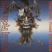 Click here for more info about 'Iron Maiden - The Evil That Men Do - P/S - Paper Labels'