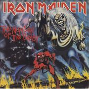 Click here for more info about 'Iron Maiden - The Number Of The Beast - 1st'