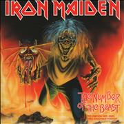 Click here for more info about 'Iron Maiden - The Number Of The Beast - Red Vinyl'