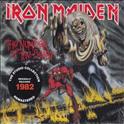 Iron Maiden The Number Of The Beast - Remastered UK CD album