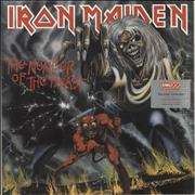 Click here for more info about 'Iron Maiden - The Number Of The Beast - Sealed & Hype/Promo Stickered'