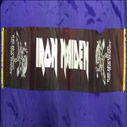 Click here for more info about 'Iron Maiden - The Number Of The Beast - black Scarf yellow tassels'