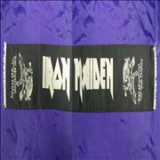 Click here for more info about 'Iron Maiden - The Number Of The Beast - black Scarf white tassels'